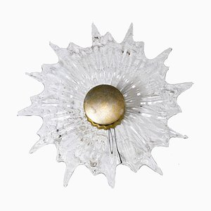 Glass Sconce, 1960s