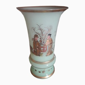 Antique French Opaline Vase
