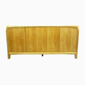 Anthroposophical Birch Sideboard, Switzerland, 1940s