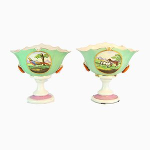 Porcelain Vases, 1920s, Set of 2
