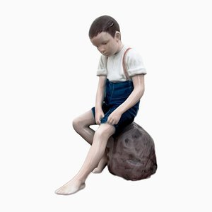 Boy Figurine from Bing & Grondhal, 1954