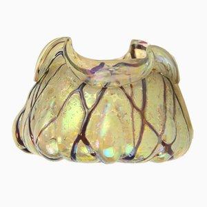 Bol Antique Art Nouveau en Cristal de Pallme Konig