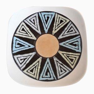 Vintage Ceramic Bowl from Scheurich, 1960s