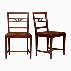 Swedish Grace Chairs by Carl Malmsten, Sweden, 1920s, Set of 2