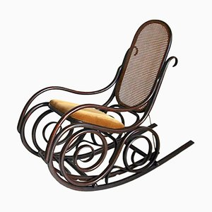 Art Deco Rocking Chair from Thonet, 1930s