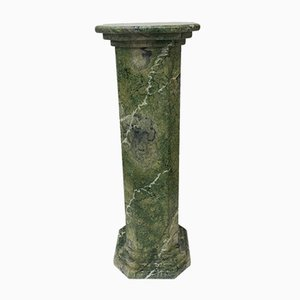 Green Marble Painted Pillar, 1970s
