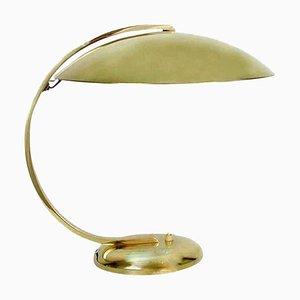 Art Deco Brass Desk or Table Lamp by Hillebrand, 1930s