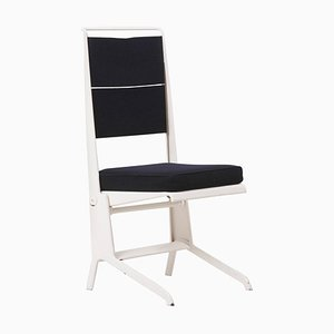 Metal Folding Chair with Lifting Seat by Jean Prouvé for Tecta, Germany, 1985