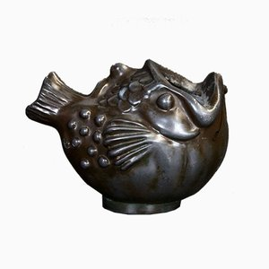 Fish Spoon Warmer by Just Andersen, 1930s