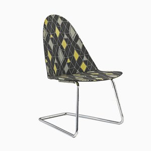 German Cantilever Side Chair by Walter Pabst for Mauser Werke Waldeck, 1950s