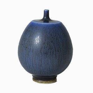 Small Stoneware Vase by Berndt Friberg for Gustavsberg, 1950s