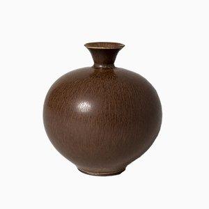 Steingut Vase von Berndt Friberg für Gustavsberg, 1950er