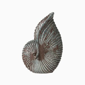 Stoneware Shell Sculpture by Gunnar Nylund for Rörstrand, 1930s