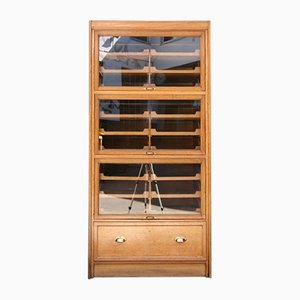 Antique English Shirt Cabinet
