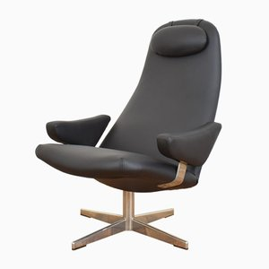 Mid-Century Contourette Roto Swivel Chair by Alf Svensson for Dux, 1960s