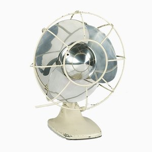 Vintage Bauhaus Model VEB 25 Table Fan from AEG