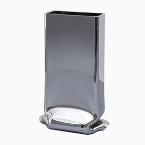 Pressure Vase Rectangular Chrome by Tim Teven Studio