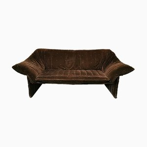 Smooth Velvet Sofa by Mario Bellini for B&B Italia / C&B Italia, 1970s