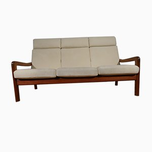 Mid-Century Danish Teak Sofa from EMC Mobler, 1970s