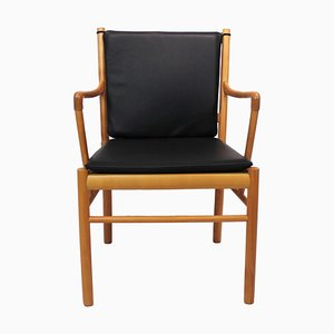 Mahogany Model PJ-301 Armchair by Ole Wanscher, 1960s