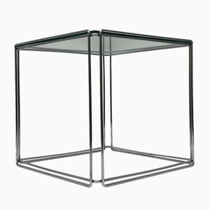 Chrome Side Table by Max Sauze for Atrow, 1970s