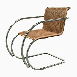 Chaise MR20 par Ludwig Mies van der Rohe pour Knoll International, 1960s