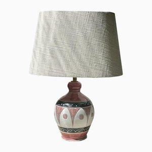 Kleine Keramik Tischlampe von Tilgman Keramik für Pagos, 1960er