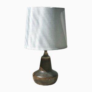 Lámpara de mesa pequeña de gres de Gunnar Nylund para Rörstrand, años 60