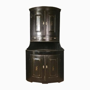Swedish Corner Cupboard, 1820s