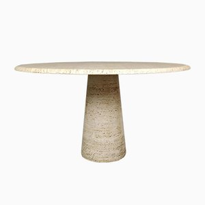 Travertine Table, 1970s