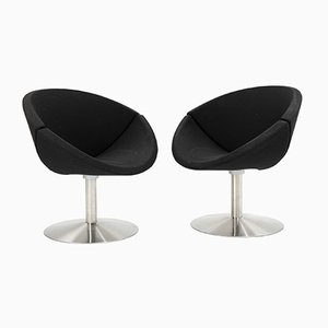 Mid-Century Apollo Chairs by Johannes Foersom & Peter Hiort-Lorenzen for Erik Jørgensen, Set of 2