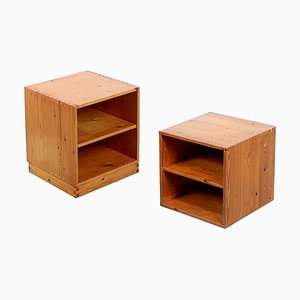 PIne Box Set by Ate van Apeldoorn for Houtwerk Hattem, 1970s, Set of 2