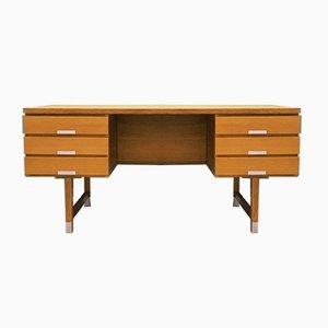 Vintage Danish Ask Desk, 1970s