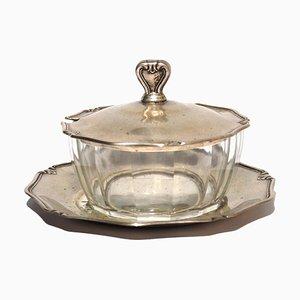 Silberne Zuckerdose, 1950er