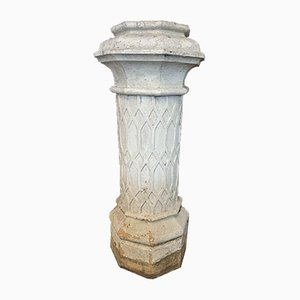 19th Century Terracotta Chimney Pots, Set of 2