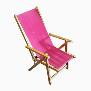 Italian Childrens Deckchair from Fratelli Reguitti, 1960s