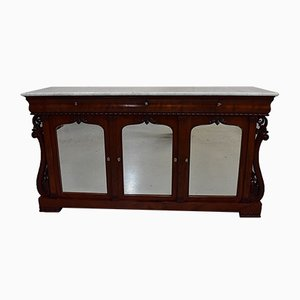 Small 19th Century Louis Philippe Style Mahogany Sideboard