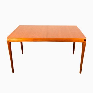 Mid-Century Danish Teak Dining Table by H. W. Klein for Bramin, 1960s