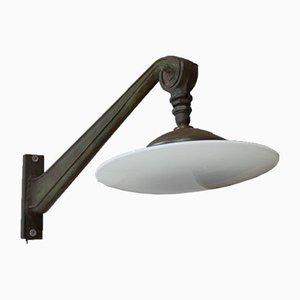 Industrielle Vintage Wandlampen, 1920er, 2er Set