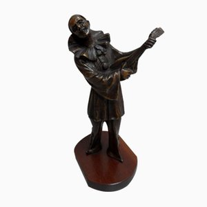 Vintage Bronze Sculpture, 1920s
