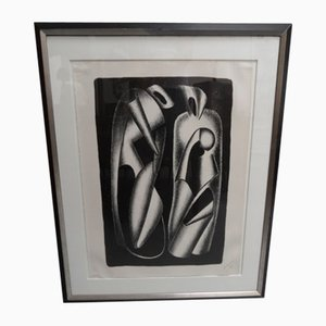 Lithograph by Alexander Archipenko, 1960s