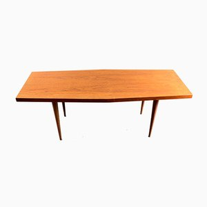 Vintage German Teak Trapezoid Coffee Table, 1960s