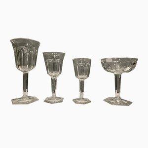 Vintage Malmaison Kristall Set von Baccarat