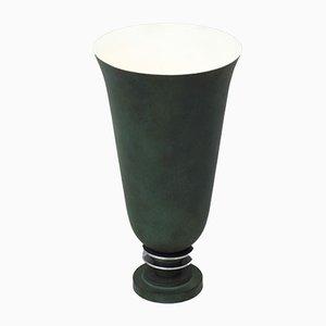 Französische Art Deco Urne Tischlampe, 1930er