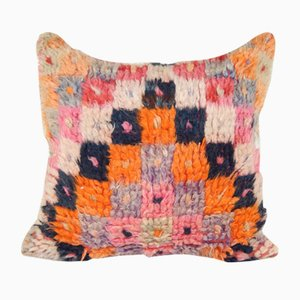 Turkish Shaggy Tulu Cushion Cover