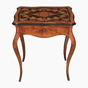Antique French Walnut Side Table