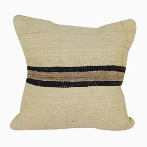 Organic Hemp Turkish Kilim Cushion Cover
