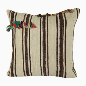Oversize Turkish Hemp Kilim Cushion Cover