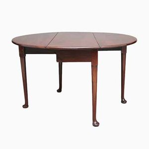 18th Century Mahogany Drop-Leaf Table