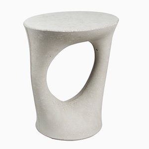 Short Grey Kreten Side Table by Isaac Friedman-Heiman for Souda